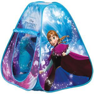 Палатка с подсветкой  Холодное сердце, голубая John. Цвет: разноцветный