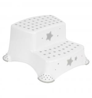 Подставка двойная  Звезды, цвет: белый Keeeper