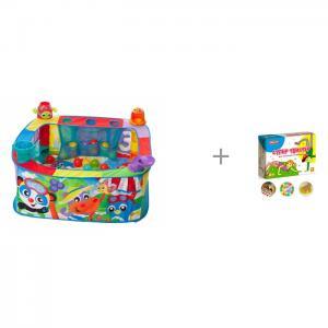 Игровой центр  с шариками и коврик Супер Твистер Playgro