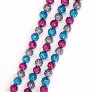 Гирлянда Fenix-present Маленькие шарики с глиттером Феникс-Презент
