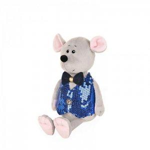 Мягкая игрушка  Luxury Мышонок Стасик в жилетке 21 см Maxitoys