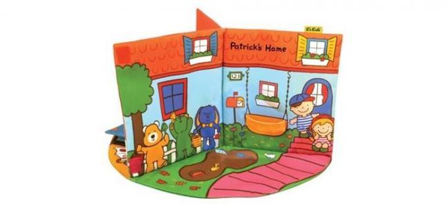 KS Kids 3D-книжка В гостях у Патрика K'S