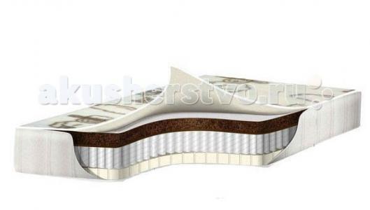 Матрас  премиум класса Incanto Cotton 125х65 Babysleep