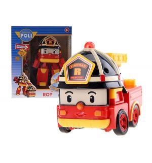 Трансформер  Рой + костюм супер пожарного Robocar Poli