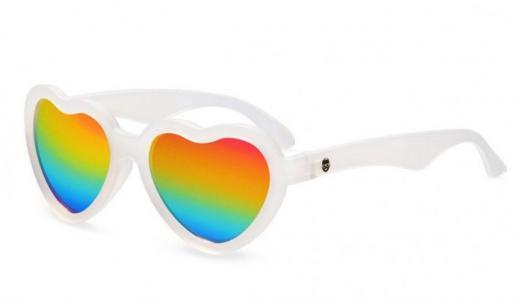 Солнцезащитные очки  Original Hearts Яркая радуга Babiators