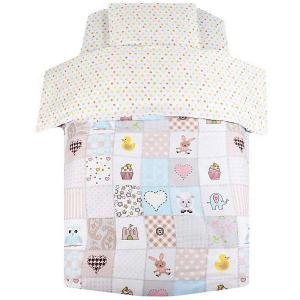 Детское постельное белье  Мозаика, 3 предмета Ifratti. Цвет: разноцветный
