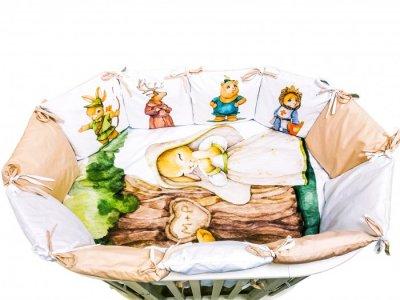 Комплект в кроватку  Детская история Робин Гуд (4 предмета) Сонная сказка