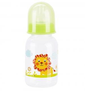 Бутылочка  пластик, 125 мл, цвет: салатовый Бусинка