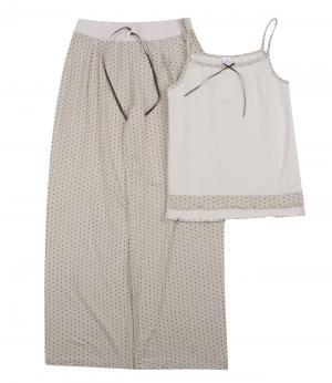 Пижама для девочки (молочная) Olla. Цвет: белый