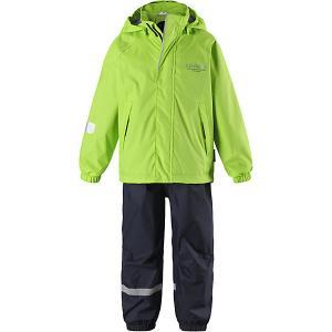 Комплект : куртка и брюки Lassie. Цвет: зеленый