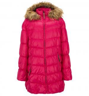 Пальто  Kastanja, цвет: розовый Luhta