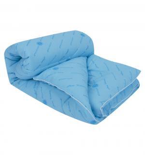 Одеяло Комфорт 140 х 205 см, цвет: голубой Артпостель