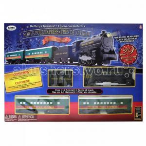 Железная дорога North Pole Express Trein Set (29 деталей) Eztec