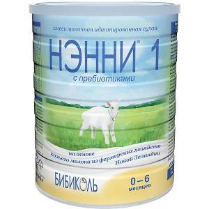 Молочная смесь на основе козьего молока  1, с 0 мес, 800 г Нэнни
