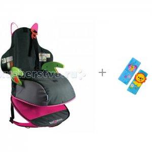 Бустер  BosstApak рюкзак и накладка на ремень безопасности Лев Forest Trunki