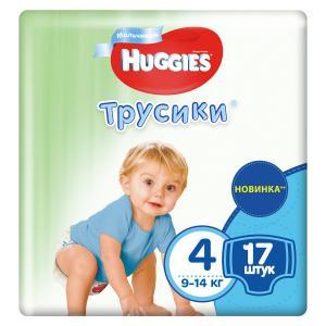 Трусики-подгузники  Pants 4 для мальчиков (9-14 кг) 17 шт. Huggies