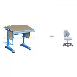 Парта трансформер и кресло FunDesk Pratico II Libao