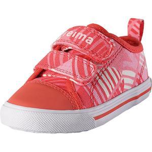 Ботинки Metka  для девочки Reima. Цвет: красный