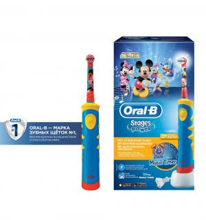 Зубная щетка электрическая  Mickey Kids D10513, от 3 лет Oral-B