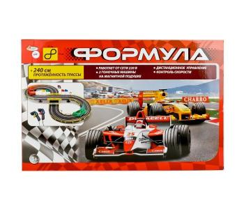 Трек Формула с 2 машинами Играем вместе
