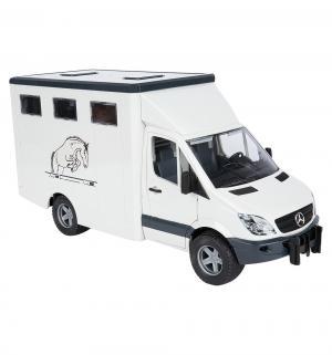 Фургон  Mercedes Benz Sprinter с лошадью Bruder