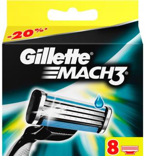 Кассеты N8  Mach3 Gillette