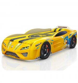Кровать-машинка  Dreamer Желтый еж, цвет: Romack