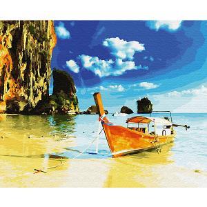 Картина по номерам  Тайланд о.Пхи-пхи, 40х50 см Molly. Цвет: разноцветный