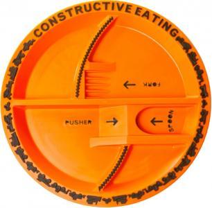 Construction Plate Тарелка Строительная серия Constructive eating