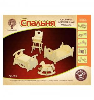 Деревянный конструктор  Детская спальная Wooden Toys