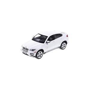 Радиоуправляемая машина  BMW X6 1:24, белая Rastar. Цвет: белый