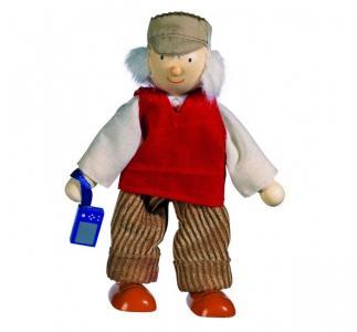 Кукла деревянная Дедушка Goki