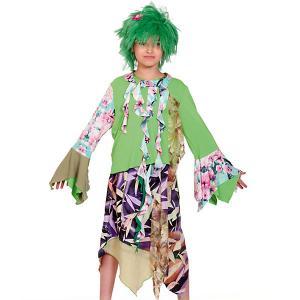Карнавальный костюм  Кикимора Карнавалофф. Цвет: разноцветный