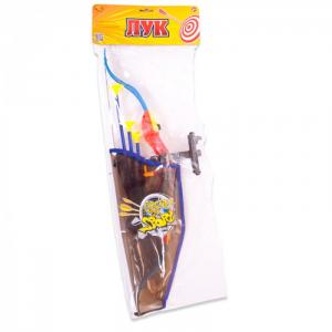 Лук со стрелами на присосках 3 шт. ABtoys