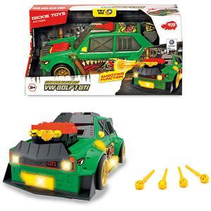 Машинка с залповой установкой  VW Golf 1 GTI, 26 см Dickie Toys