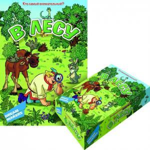 Детская настольная игра В лесу Dream makers