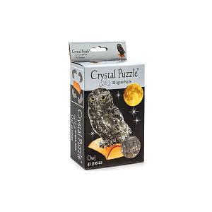 3D головоломка Сова дымчатая Crystal Puzzle