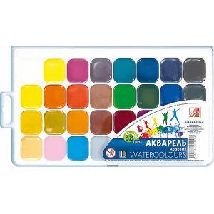 Акварель Луч Классика медовая, 32 цвета. Цвет: белый