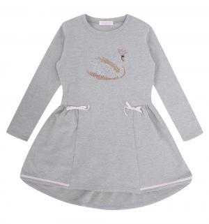 Платье  Принцесса лебедь, цвет: серый Colabear