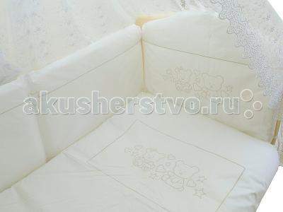Комплект в кроватку  2034 (7 предметов) Мой Ангелок
