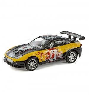 Машинка  цвет: желтый 18 см Пламенный мотор