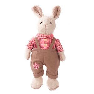 Мягкая игрушка  Зайка Джони в красном, 23 см Angel Collection
