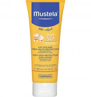 Молочко  солнцезащитное SPF 50+ Mustela