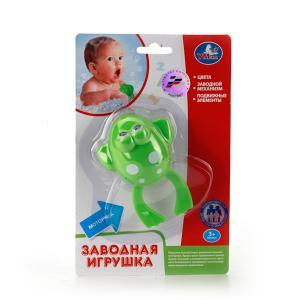 Игрушка для ванны  Заводная лягушка Умка