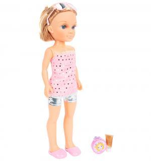 Кукла  Нэнси (шатенка в розовом) Famosa