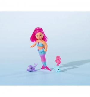 Кукла  русалка с двигающимся хвостом и морскими животнами Evi