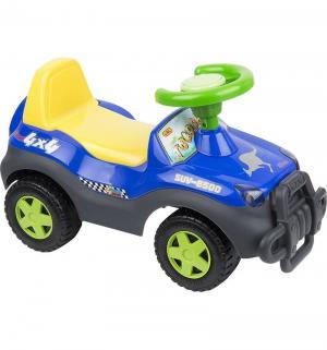Машина-каталка  2106, цвет: синий/желтый Tolocar