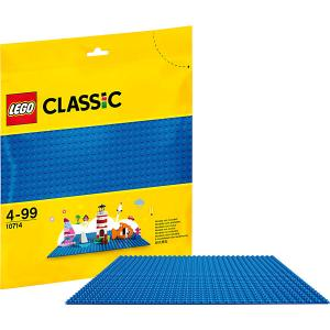 Конструктор  Classic 10714: Синяя базовая пластина LEGO