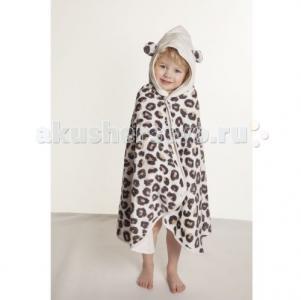 Накидка с капюшоном для малышей Снежный барс CuddleDry