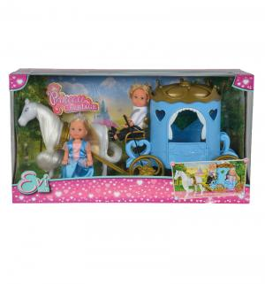 Игровой набор  Кукла Еви и Тимми в карете Simba
